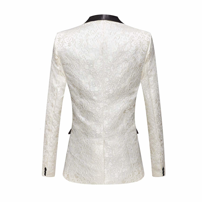 jacquard terno jaqueta casamento do noivo baile