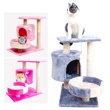 Трехслойная рама для кошек шлифовальная Когтеточка прыжков игрушка