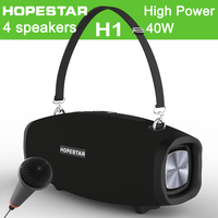 HOPESTAR H1 X 40W Big Power Bluetooth Speaker Portable outdoor Waterproof Stereo Subwoofer Boombox Bass 3D Stereo Music Soundbar