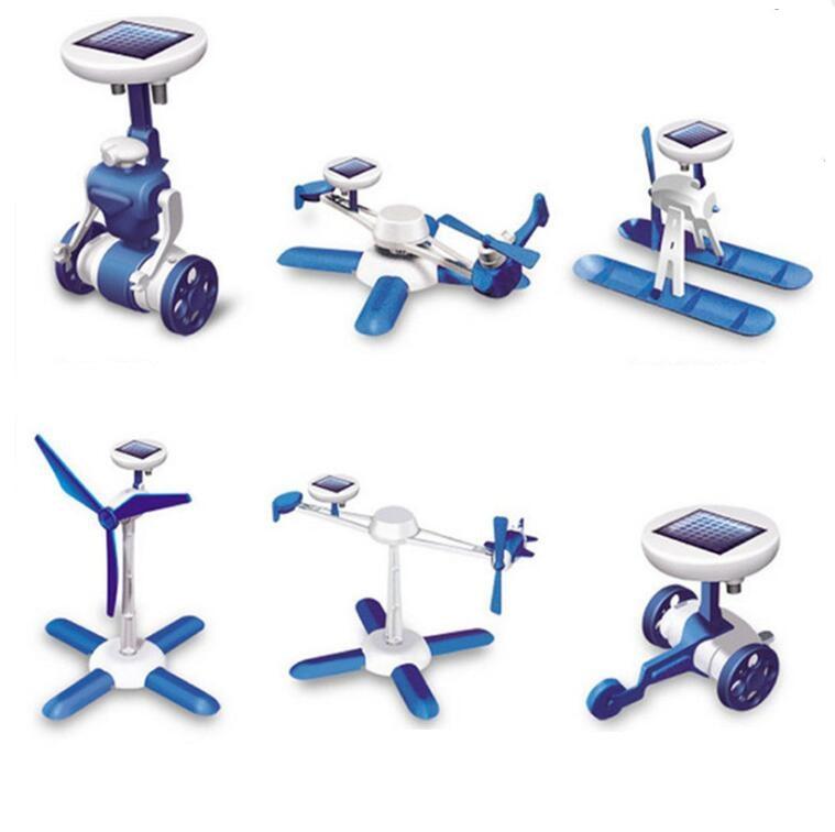 Solar Power Transformation Robot Kits DIY Toy Solar Battery Powered Kits Novelty Educational Learning Gift Kids Solar Toy