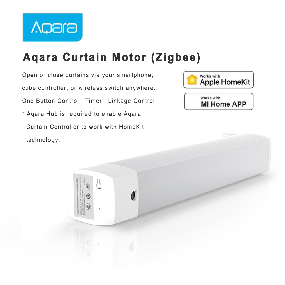 Aqara Smart Curtain Motor Intelligent Zigbee Wifi For xiaomi Smart Home Device Wireless Remote Control Via Mi Home APP