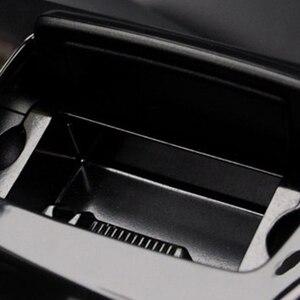 Image 2 - Auto Posacenere Nero di Plastica Center Console Posacenere Scatola di Montaggio Adatto per BMW 5 Serie F10 F11 F18 520 51169206347