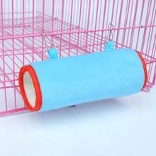 Pet House Hamster Cage Plush Nest Squirrel Ferret Rat Cotton Bed Small Pet Hamster Cage Animal Room Hamster Accessories(China)