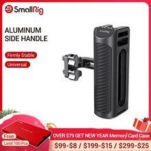 Универсальная алюминиевая боковая ручка для камеры SmallRig, две резьбовые отверстия 1/4 дюйма, расстояние 18 мм на боковой 2425