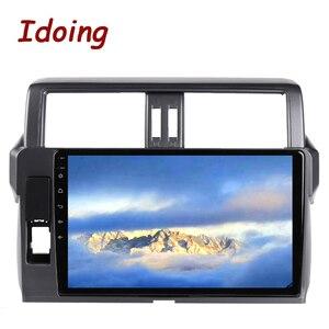 """Image 5 - Idoing 10.2 """"2.5D 4G + 64G Android araç radyo multimedya GPS oynatıcı Toyota LAND CRUISER PRADO için 150 2013 2017 DSP hiçbir 2DIN DVD"""