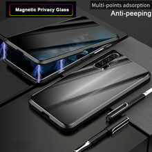 Magnetic Case Front+Back double-sided 9H Tempered Glass Case For Huawei P40 P30 P20 Pro Lite  Metal Bumper Case for huawei p30 lite case 360 magnetic adsorption front back double sided 9h tempered glass case for huawei p30 pro