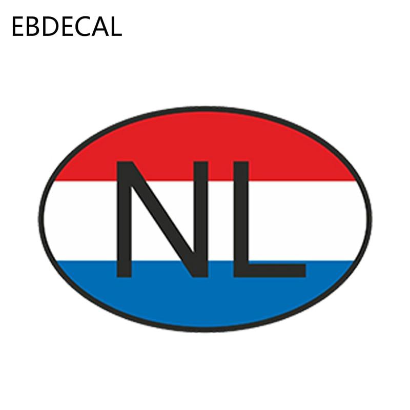 Países Bajos Holanda bandera holandesa 10 cm Vinilo Pegatina Calcomanía