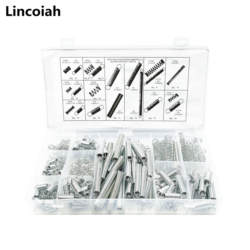 Hardware-Accessories Spring-Set Tension Steel Metal And 200pcs Coil-Tool Repairs Portable