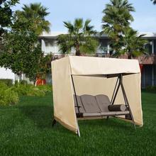Swing Cover Heavy Duty Dustproof Hammock Cover Glider Canopy Case Patio Furniture Waterproof Cover