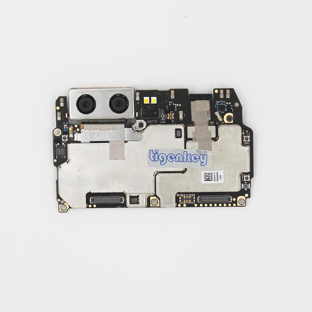 Tigenkey Original Work  Unlocked Motherboard Mainboard Main Circuits Flex Cable 4GB RAM 64GB  ROM For Huawei P10 VTR-AL29