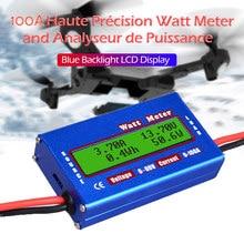 Profissional dc 60v/100a balanceamento tensão de energia da bateria lcd rc watt medidor verificador watt medidor balanceador carregador rc ferramentas