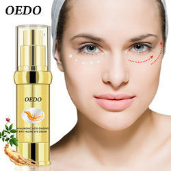 Hyaluronic Acid Anti Aging Peptide Collagen Eye Cream Against Bags And Puffiness Eye Care Dark Circle Remover Anti-Wrinkle Cream
