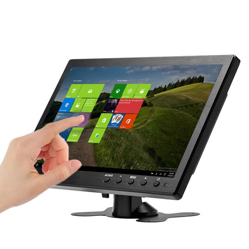 10,1 дюймов портативный ноутбук Мониторы ЖК-дисплей монитор USB ПК с сенсорным экраном портативным игровым приставкам монитор для PS3/4 Xbox360 ...