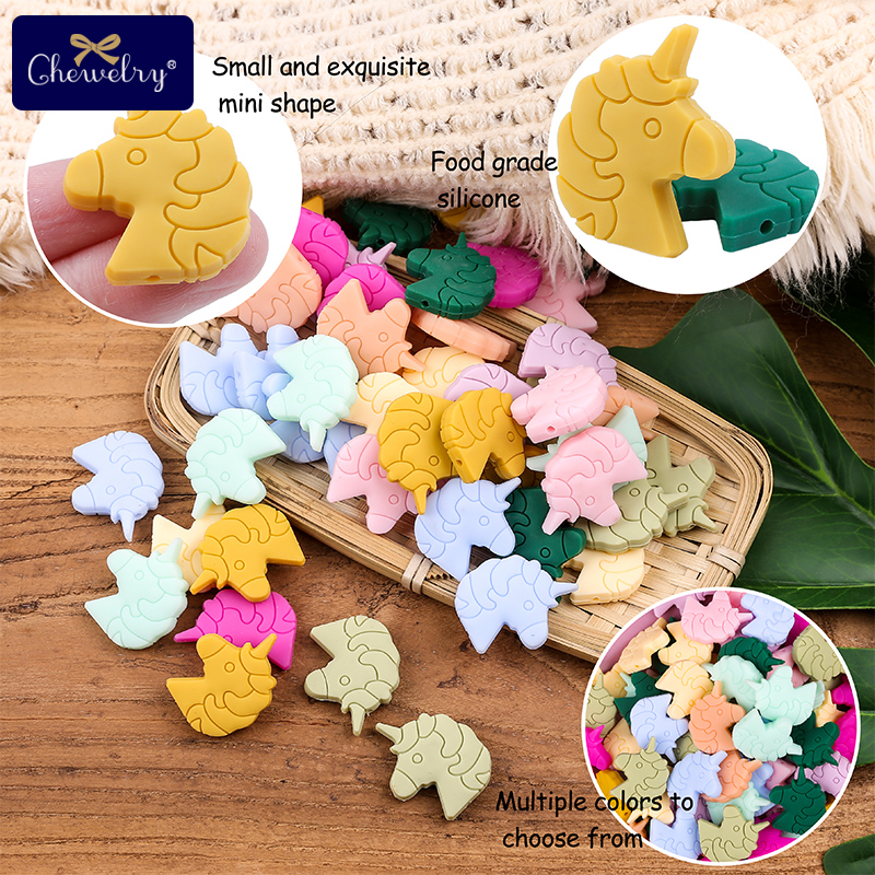 Baby Silicone Beads Baby Teether Cartoon Cactus Leaves  Food Grade Perle Silicone Rodent For Baby Nursing Necklace Bracelet Toys