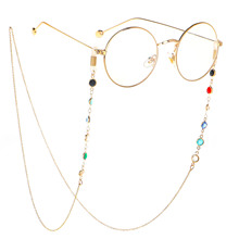 Korean Reading Long Glasses Chain Women Men Eyewear Accessories