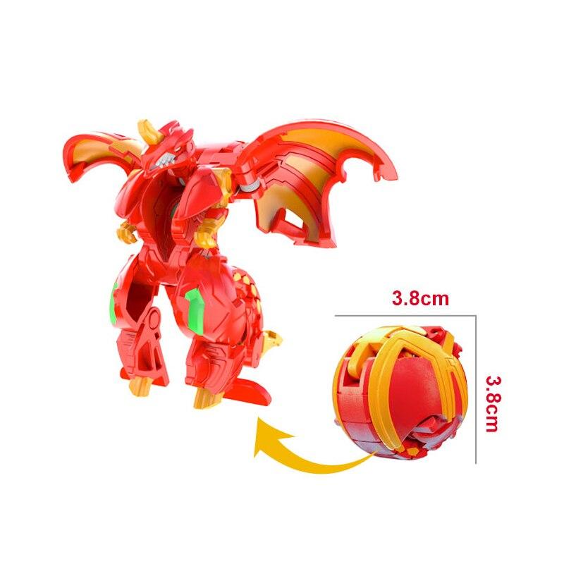Горячая битва планета деформация Животное действие игрушка фигурки мгновенная деформация игрушка монстр Дракон динозавр игрушки Трансформеры игрушки - Цвет: Яркий