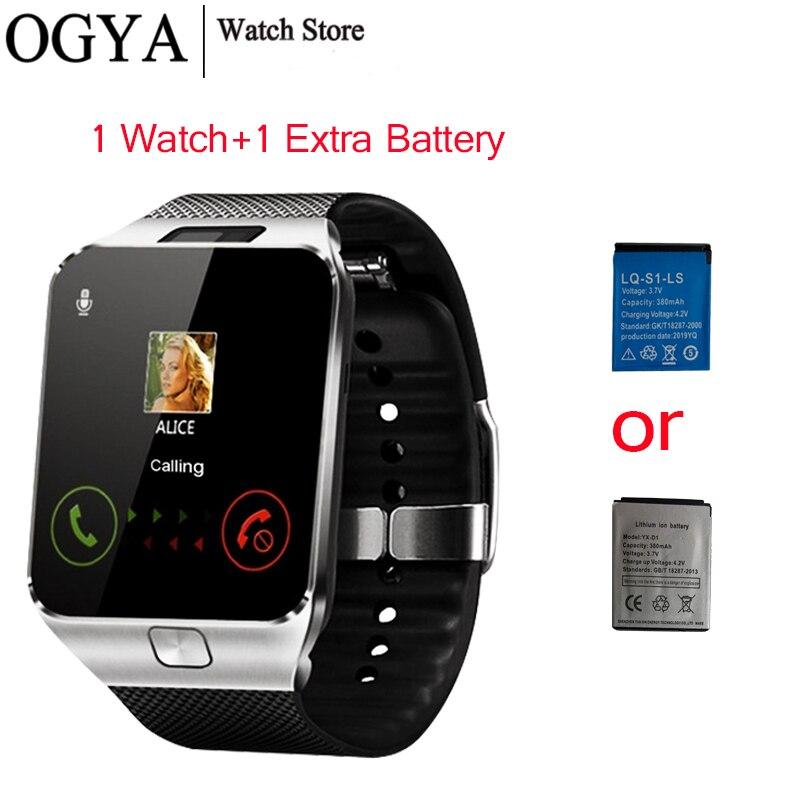 Dz09 tela de toque smartwatch pulseira relógio inteligente masculino bluetooth música chamando relógio inteligente feminino reloj inteligente hombre