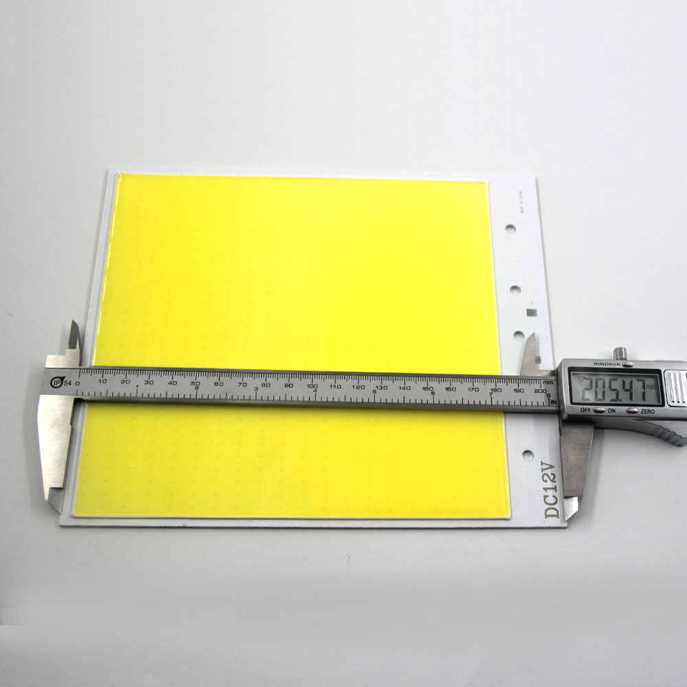 Super Bright Dimmable 12V COB LED Lights Board Panel Lamp max 300W LED Lighting with Dimmer Cold White 6500K COB Bulbs for DIY