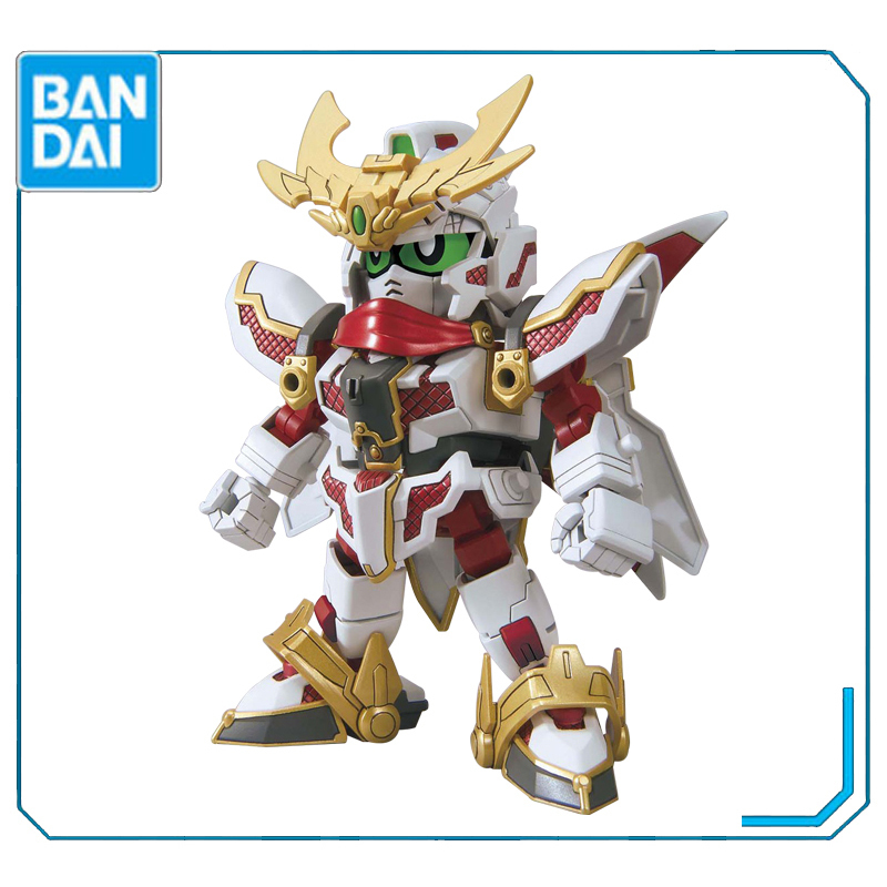 Original Bandai <font><b>BB</b></font> warrior SDBD RX zero pill deformation up to create shaped stealth <font><b>Gundam</b></font> Assembly Action Figureals Model Doll image