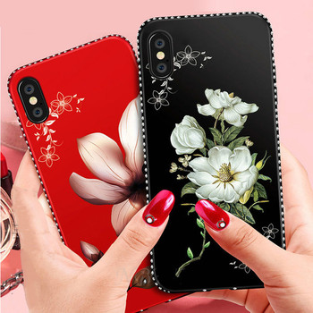 Luxury Diamond Flower Silicone Case For Huawei Honor 9 10 Lite 5A 5X 6A 6X 7A 7X 8X MAX Y5 Y6 Y7 2017 2018 Y9 Prime 2019 Cover image