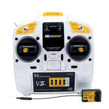 MCE6 2.4G 6CH Transmitter Remote Control with E6R Self-Stable Receiver for RC Airplane Fixed wing