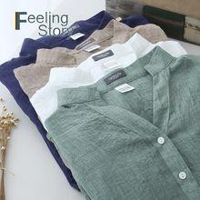 Casual Solto Tops e Blusas Das Mulheres Harajuku Plus Size Top Blusa Branca Camisa de Proteção Solar Algodão Linho V Pescoço Camisas blusas