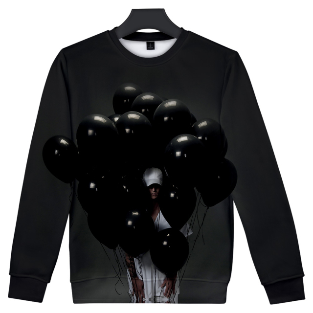 NF 3D Art Baloon Print Sweatshirt 1