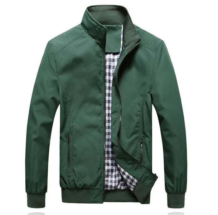 Men's Jacket Spring And Autumn Thin Section Business Break Jacket Men