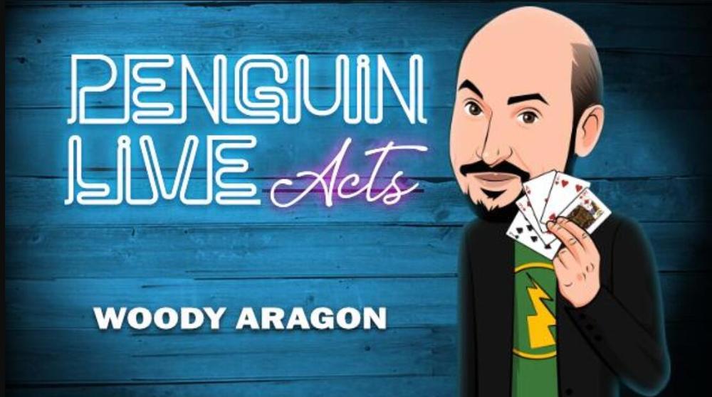 Woody Aragon Penguin Live ACT