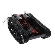 Amortecimento tanque de equilíbrio robô chassis plataforma controle remoto diy para arduino 95ae