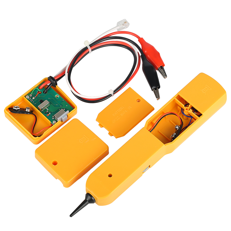Free Shipping Tester Toner Tracer Inder Detector Networking ToolsTracker Diagnose Tone Finder Telephone Wire Cable