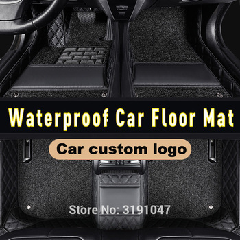 CARFUNNY Right hand drive Waterproof car floor mats for cadillac escalade mg3 accesorios mazda cx7 2011 mazda cx5 carpet liners image
