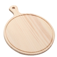 Wooden Pizza Board Pizza Tray Plate with Handle Pizza Baking Tray Pizza Cutting Board Platter Pizza Cake Bakeware Tools Pizza Sp