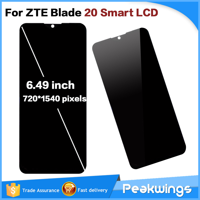 """AAA + 6.49"""" LCD For ZTE Blade 20 Smart LCD Display Touch Screen Assembly LCD For ZTE Blade 20 Smart LCD"""