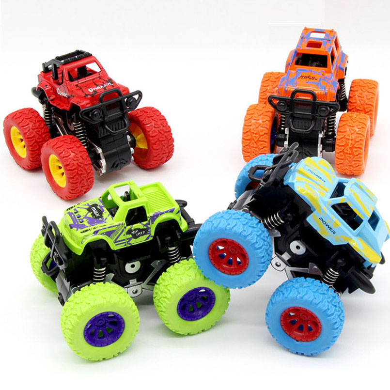 Mini coche de acrobacias de tracción inercial chico niños camión juguetes vehículos todoterreno coches de cuatro ruedas modelo bebé Educación Niños juguete Para Mitsubishi Outlander 2013 2015 2016 2017 2018 Exterior modificado especial 3D 4WD letras pegatinas de cuatro ruedas