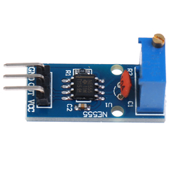 Frequency Adjustable Pulse Generator Module NE555 Chip
