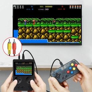 Image 2 - RS 6A Coolbaby רטרו נייד מיני כף יד משחק קונסולת 8 קצת 3.0 אינץ צבע LCD ילדים צבע משחק נגן נבנה ב 168 משחקים