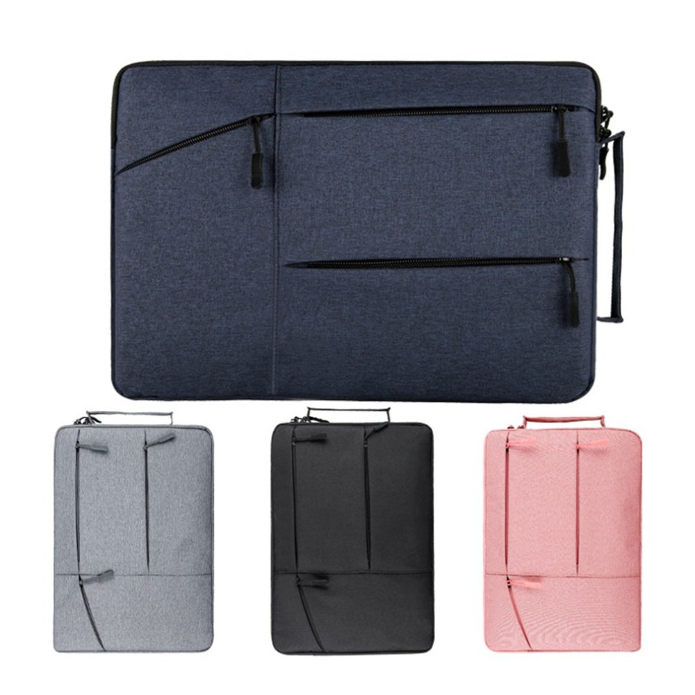 Laptop Sleeve Bag Notebook Case For Macbook Air Tablet Pouch Waterpoof Bag Cover For Macbook 13 14 15 Inch Drop Shipping