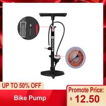 Велосипедный насос, напольный насос для велосипеда, MTB, дорожный велосипедный пол, 160PSI, насос Presta Schrader, Точный Насос для накачивания шин, ножной велосипедный насос