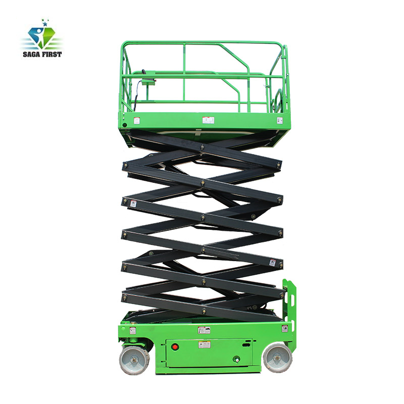 Hydraulic Lift Table Cart Self Propelled Electric Scissor Lift