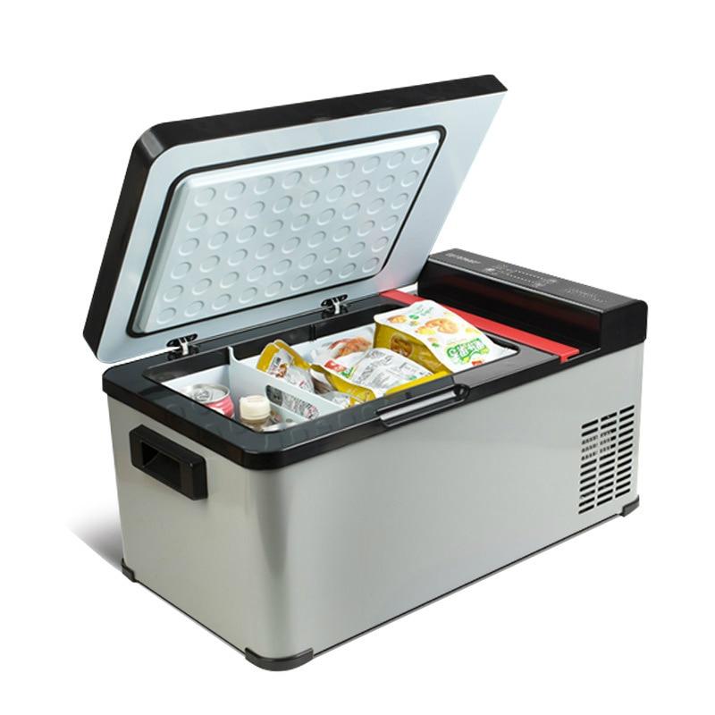 27L Mini Fridge Freezer Home Car Refrigerator Portable Fridge Dc 12v Refrigeration Car Electrical Cooler With Free Shipping