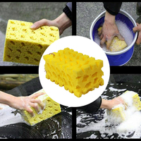 Detailing Coral Sponge Washing Cleaning Block Soft Absorbency Extra Large Car-Washing Sponge Honeycomb Home Cleaneing Product 4