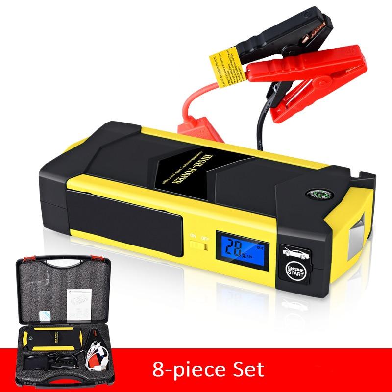 20000mAh Slim Car Jump Starter Pack Booster Charger Battery Power Bank LED UK