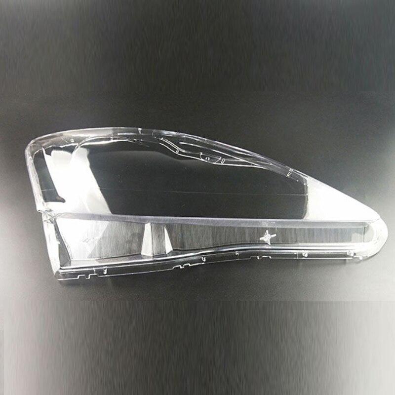 สำหรับ Lexus IS250 IS300 IS350 เลนส์โคมไฟไฟหน้าโคมไฟไฟหน้าโปร่งใสที่อยู่อาศัยไฟหน้าโปร่งใสพลาสติก