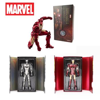 Anime film Avengers Iron Man MK4 MK3 MK2 7-cal figurka Mark 3 obsługi Ge Ku Na Iron Man Tony Stark legenda ZD zabawki tanie i dobre opinie Hasbro Model CN (pochodzenie) Unisex 18cm 14 lat Wyroby gotowe Zachodnia animacja Produkty na stanie Film i telewizja