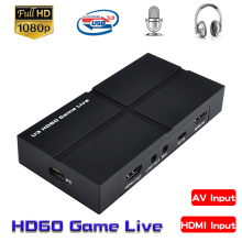 Video-Capture-Card Live-Streaming-Broadcast HDMI EZCAP Phone-Pc Game-Recording Audio-Out