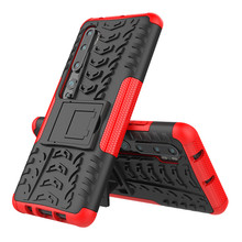 For Xiaomi Mi CC9 9T Pro Mi A3 9 Lite CC9E Rugged Cover Case Redmi 8A Note 8 10 Pro Shockproof Hard Silicone Armor Stand Coque super shockproof phone case for xiaomi mi 9t mi 8 lite a2 lite mi 9 airbag silicone tpu case for xiaomi mi 9t mi 8 lite cover