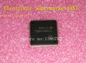 Free Shipping 10pcs/lots TSB43AB23PDTG4  TSB43AB23  TQFP-128 100%New original  IC In stock! free shipping 5pcs lots d808k013dptp4 d808k013 tqfp 144 ic in stock