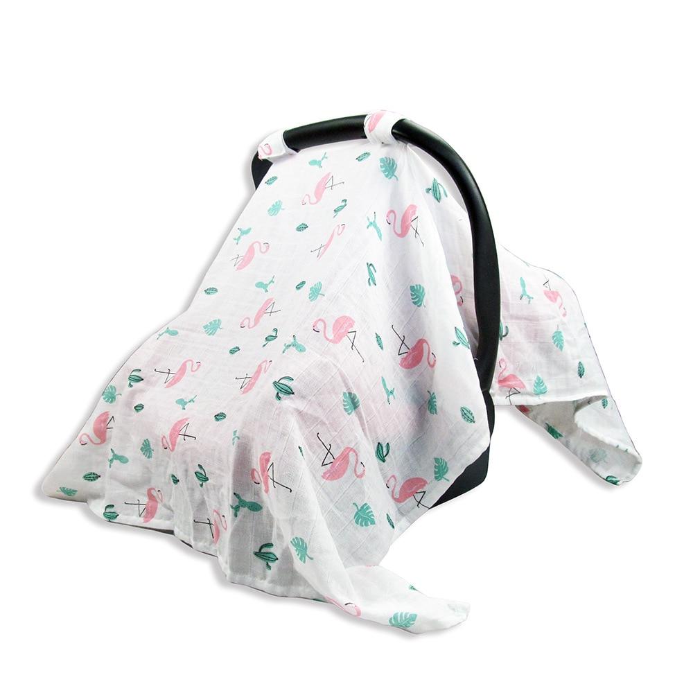 Nursing Cover Baby Car Seat Canopy Breastfeeding Scarf Breathable