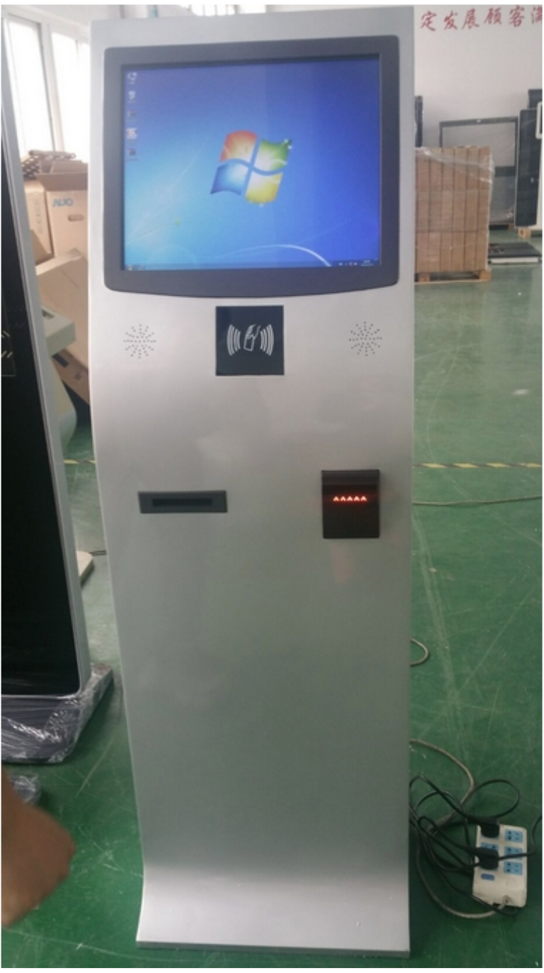 17 19 22 Inch Kiosk Touch All In One With Printer And Capacitive Screen
